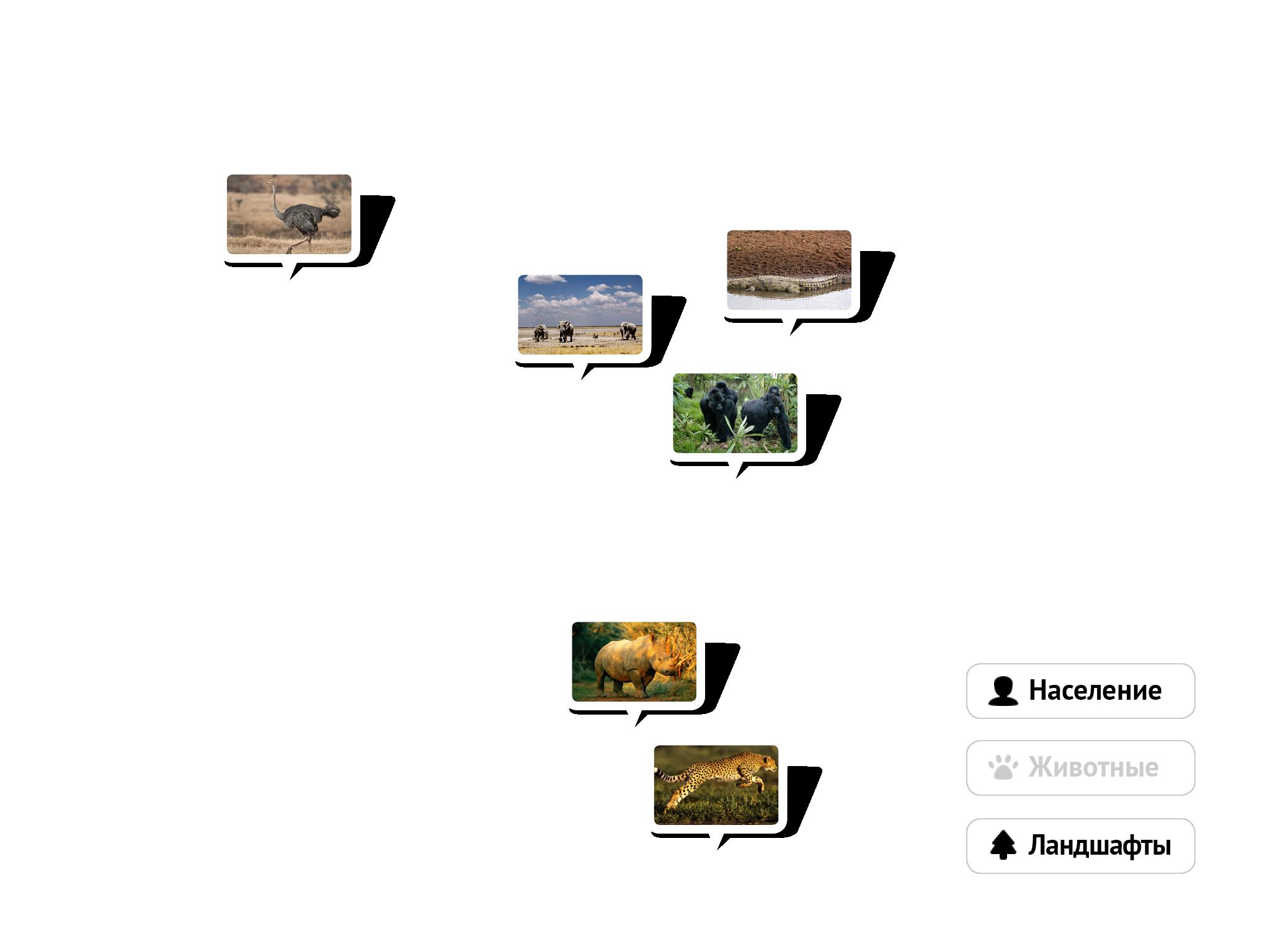 Как называются тропические степи в африке