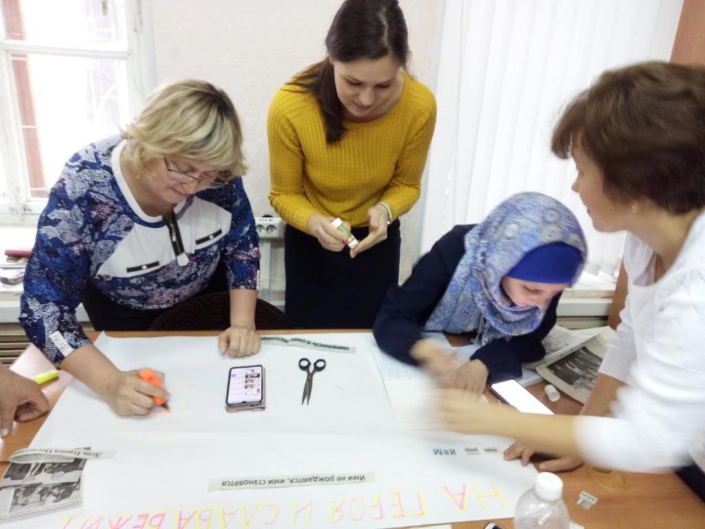 Казанские педагоги прошли практику по созданию творческих мастерских по «Литературному чтению»
